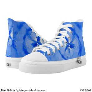 Blue Galaxy on high tops