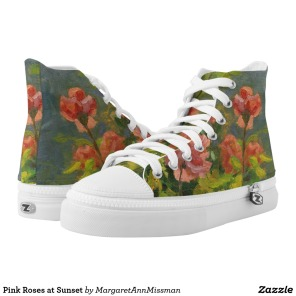 Pink Roses on high tops
