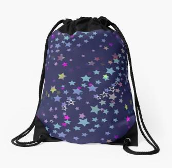 drawstring_bag,party stars